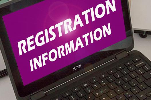 Registration week August 9-13